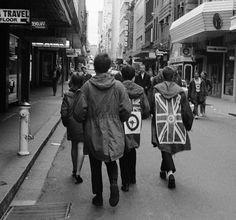 Union Jack mod kakhi parka (1960's - British)