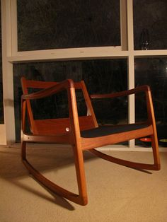 Ole Wanscher Rocking Chair   Interiors, Rocking chairs and Teak