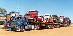 It's not easy transporting goods across Australia's wide open spaces, so Kurt Johanssen pioneered the road train concept after the end of World War II. This