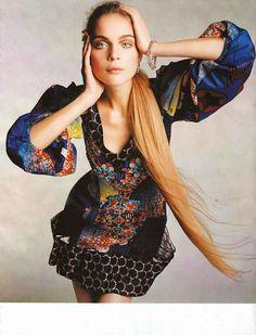 Vogue Espana. Kim Noorda.