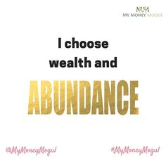 Affirm Yourself daily. Write the affirmation below #mymoneymogul #moneymogul