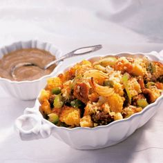 Try corn bread stuffing at your upcoming Thanksgiving meal. It's sure to become a family favorite.