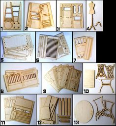 Details of furniture for dolls chair bed a rack sofa BJD