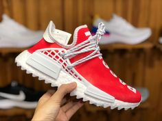 """801f99e38 2018 adidas NMD Hu """"China Exclusive"""" Passion Red F99761 Shoes – New Yeezy  Boost"""