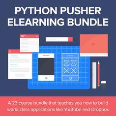 Python Pusher eLearning Bundle Game Programming, Python Programming, Python Web, Ios Developer, Sites Like Youtube, Teaching Technology, Project Based Learning, Mobile App Design, Data Analytics