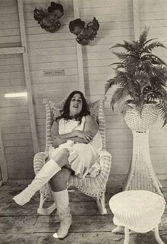 """""""Mama"""" Cass Elliot - I remember watching her when I was a young girl."""