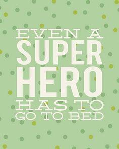 YoYo atelier | GOODNIGHT  #goodnight #superhero #kidsquotes