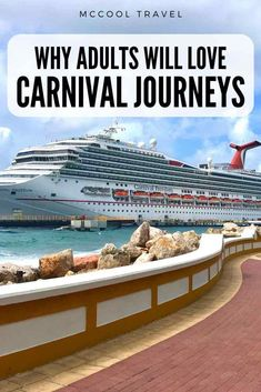 Carnival Cruise Line's Carnival Journeys offer longer immersive itineraries perfect for adult passengers and budget travelers. Cruise Tips, Cruise Travel, Solo Travel, Travel Usa, Travel Advice, Travel Tips, Travel Articles, Travel Abroad, Budget Travel