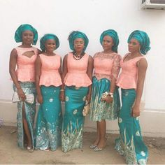 Make a Daring Assertion with Your Aso-Ebi Type! Eclectic, Fabulous & Jaw-Dropping Aso-Ebi Outfits
