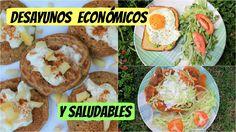 Desayunos económicos y saludables  Menos de 1 USD