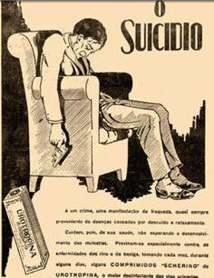 Anuncio de comprimidos contra depressão Schering