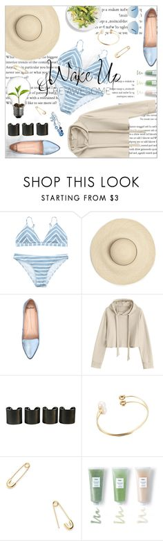 """""""Wake Up, & Be Awesome"""" by runtrendy ❤ liked on Polyvore featuring Mollini, 8 Other Reasons, WALL, Jeweliq, Huxley, Christian Dior and Chanel"""