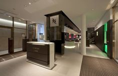Nespresso flagship boutique by Favero & Milan, Munich store design - Directionality