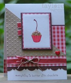 """Uses Taylored Expressions """"Berries and Cherries"""" set"""