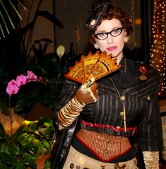 Waistcoats & Weaponry Breaking Down the Cover ~ Sophronia's Fan (Special Extras) - Gail Carriger Etiquette And Espionage, Emma Movie, Gail Carriger, Custom Corsets, Steampunk Accessories, Lace Tights, Edwardian Dress, Cover Model, Social Events