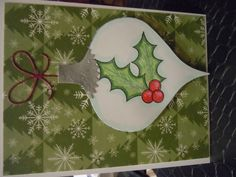 a litte something different on the ornament die by Memory Box
