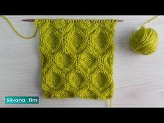 Knitting Stiches, Cable Knitting, Crochet Stitches Patterns, Knitting Videos, Knitting Charts, Stitch Patterns, Knitting Patterns, Booties Crochet, Knit Crochet