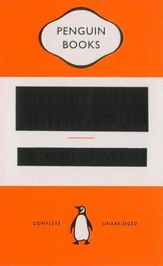 1984 Cover, designed by David Pearson