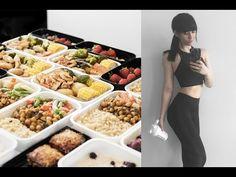 Meal Prep With Me: Healthy Breakfast, Snacks, Mains // Rachel Aust - YouTube