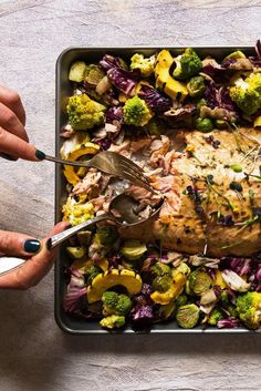 If you love one-pan meals as much as we do, then your baking sheets are probably showing a little wear and tear. Make them look good as new with this easy trick.
