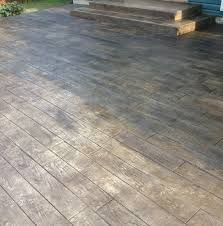 wood stamped concrete gray - Google Search