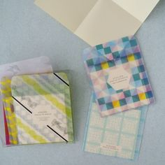 Tracing envelope 6 pattern set (click post is impossible) - paper mono Atelier Uncle Dankuru
