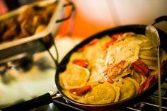 mushroom ravioli #ravioli #buffet #bnai #parklandchefcatering #sarareneeevents