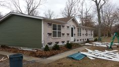 This #Siding job crafted by #stylecraft is coming along nicely!