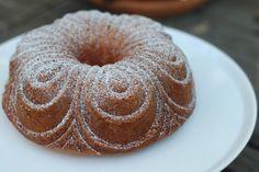 Apple Cake with Walnut Praline (Cinnamon Spiced Apple & Candied Walnut Bundt Cake) ~ Tasty Conversations [Audra Morrice]