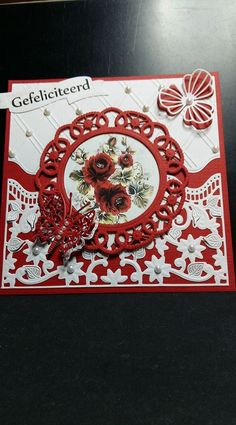 Easel Cards, 3d Cards, Butterfly Cards, Flower Cards, Marianne Design Cards, Pretty Cards, Creative Cards, Hobbies And Crafts, Greeting Cards Handmade