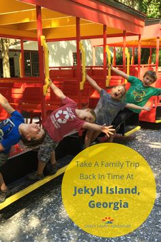Jekyll Island, Georgia is a unique Family Travel experience. When you are on the island it feels like time slows down and you are transported back in time!