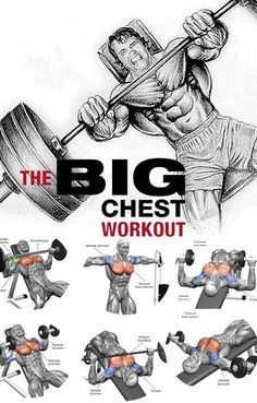 Chest Workout For Men, Chest Workouts, Best Chest Workout Routine, Chest Exercises, Shoulder Exercises, Gym Workout Chart, Gym Workout Videos, Build Muscle Mass, Muscle Building Workouts