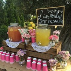 15 unique baby shower ideas Pretty baby shower ideas for a girl . - 15 unique baby shower ideas Pretty baby shower ideas for a girl …, 15 unique baby shower ideas Pr - Baby Shower Unique, Baby Shower Themes, Shower Ideas, Baby Q Shower, Baby Shower Drinks, Soirée Bbq, I Do Bbq, Grad Parties, Birthday Parties