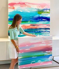 gallery — Carolyn Joe Art Acrylic Canvas, Canvas Art, Types Of Art Styles, Colorful Abstract Art, Acrylic Painting Tutorials, Acrylic Colors, Cool Art, Awesome Art, Art Activities
