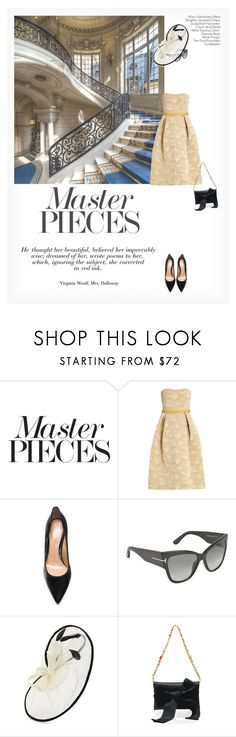 """MASTERPIECES"" by paint-it-black ❤ liked on Polyvore featuring Mary Katrantzou, Gianvito Rossi, Tom Ford and Scala"