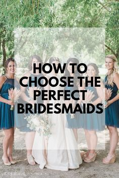 Wedding planning is busy and stressful so making sure you have the right support system is key. Here's five top tips that will walk you through picking the perfect bridesmaids. Bridesmaids, Wedding Planning, Dream Wedding, Key, How To Plan, Party, Tips, Inspiration, Weddings