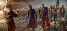 We talk to Thor visual effects supervisor Wesley Sewell and some of the VFX vendors about a few key sequences from Kenneth Branagh's film of the Marvel comic. Loki Laufeyson, Loki And Sigyn, Thor Sif, Thor 2011, Thor Cosplay, Super Movie, Best Villains, Rainbow Bridge, Marvel Cinematic Universe