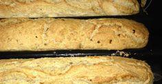 Zwiebel-Baguette **easy**, ein Rezept der Kategorie Brot & Brötchen. Mehr Thermomix ® Rezepte auf www.rezeptwelt.de
