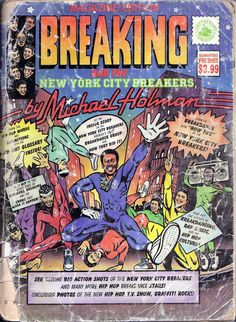 the New York City Breakers CLASSIC MAGAZINE hard to find