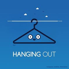 'Hanging out'  #illustration #illustrator #art #artist #pun #visualpun #punny #humor #lol #funny #cute #design #graphics #graphicdesign #vector #digitalart #vectorart #draw #drawing #nabhan #myart #hanging #hanger #hangingout #out #myconcept #bestvector  Note: I am asking you kindly NOT to re-post or share my artwork without crediting and tagging this account, all artwork posted here is copyrighted and owned by me. Accounts that ignore this rule will be reported and may get deleted for…