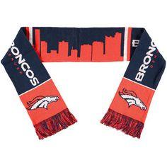 Denver Broncos Skyline Scarf