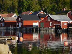 Höga Kusten - The High Coast Boathouse, Scandinavian Home, Finland, Denmark, Norway, Sailing, Coastal, Europe, Cabin