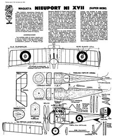 Planitos de Lupin. Nieuport XVII parte I