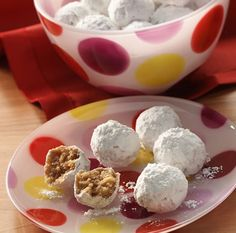 BACARDI® Rum Balls  Looks like easiest recipe ever. gonna try these instead of old way I make them.