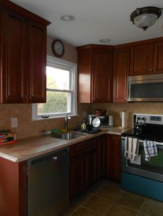 Ashley S Rowhome My 13 Kitchen Facelift My Future Home