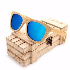 bedffde513d Cream Wayfarer Bamboo Wood Sunglasses  2 Variants