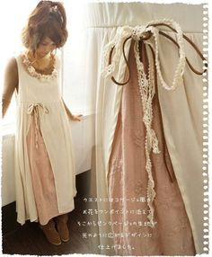 I'd even do the cut out and bow on both sides having a flap drape down the front.::