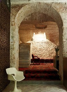 Ocaña's quintuplet of creative spaces are a treat for the senses in Barcelona. French Country Interiors, Country Interior Design, Rustic Interiors, Commercial Interior Design, Commercial Interiors, Unique Architecture, Interior Architecture, Coffee Shop Bar, Coffee Shops