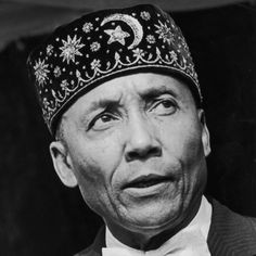 Elijah Muhammad (born Elijah Robert Poole; October 7, 1897 – February 25, 1975) was an African American religious leader, and led a movement called Nation of Islam from 1934 until his death in 1975. Muhammad was a mentor to Malcolm X, Louis Farrakhan, Muhammad Ali
