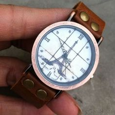Retro Eiffel Tower Roman scale Watch|Retro Watches - New Style Watches…